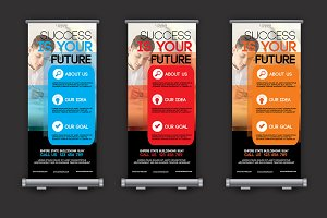 Business Roll Up Banner