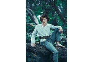 Prince of elves on tree