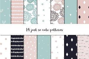 So cute patterns