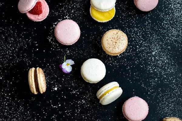 Stock Photos - Colorful Macarons