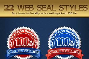 22 Web Seal Styles