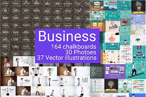 200+ business illustrations
