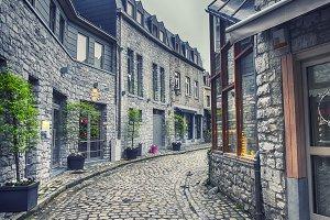 old Belgium town Durbuy