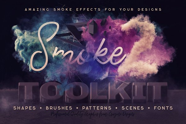 Graphics: Cruzine - Smoke Toolkit 2