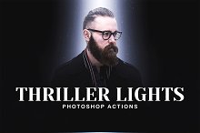 Thriller Lights Photoshop Actions