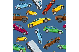 Vehicle collection sealess pattern