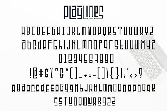 Playlines Typeface ~ Fonts ~ Creative Market
