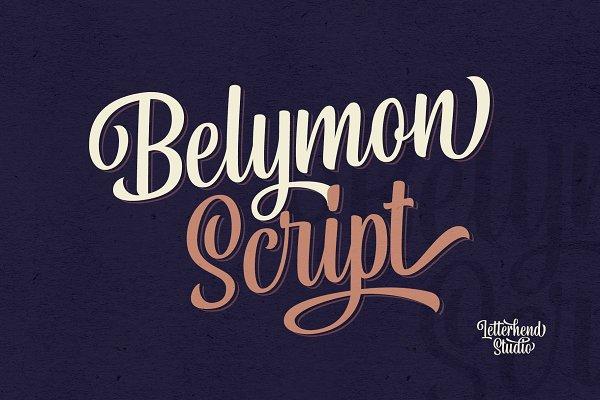 Fonts - Belymon Script