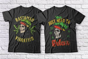 Cannabis t-shirts set