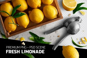 Fresh limonade - PSD file