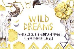 Wild Dreams Watercolor Collection