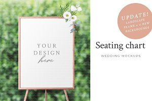 Wedding Seating Chart Mockup Creator