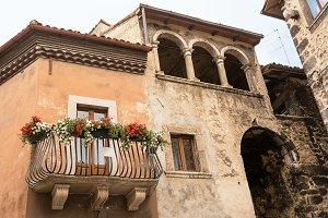 Balcony in Scanno (Italy)