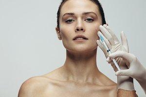 Anti wrinkles aesthetic treatment