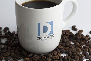 Digital D Letter