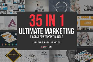 Ultimate Marketing - 35 Templates