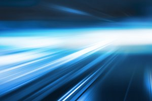 Abstract blue speed background