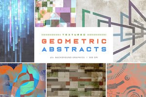 Textured Geometric Abstract Graphics