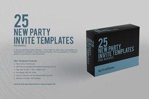 25 Party Flyer Bundle