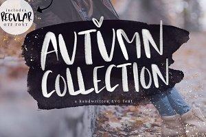 Autumn Collection - SVG + OTF font