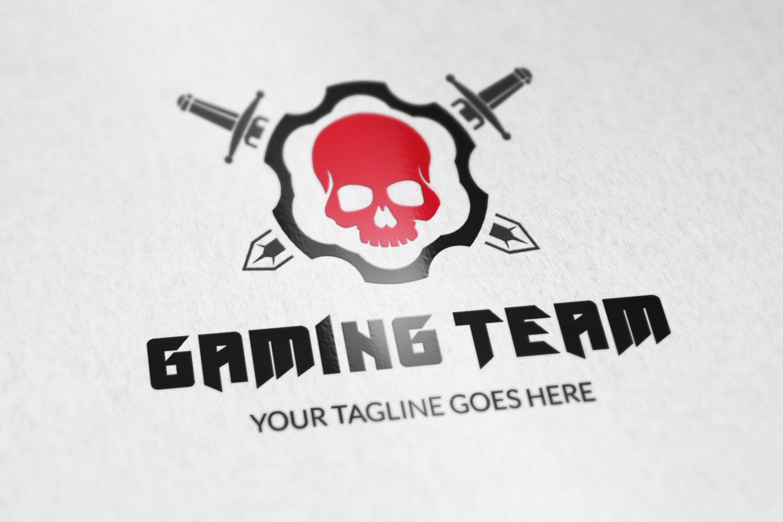 gaming team logo v1 logo templates creative market
