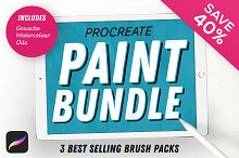 Paint Bundle for Procreate