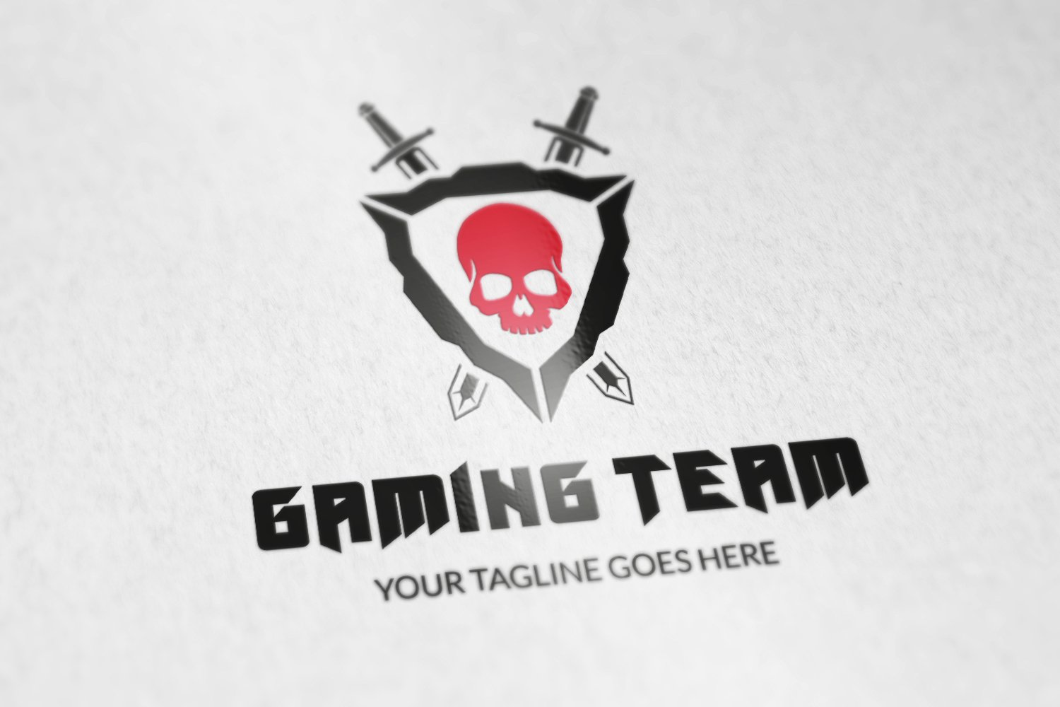 Gaming Team logo v2 ~ Logo Templates ~ Creative Market