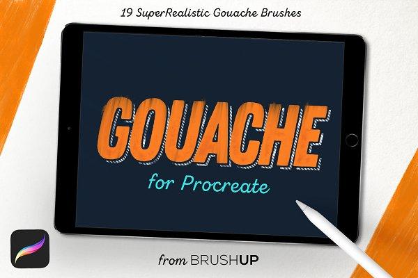 Gouache for Procreate