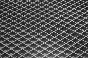 Black and white grid texture backgro