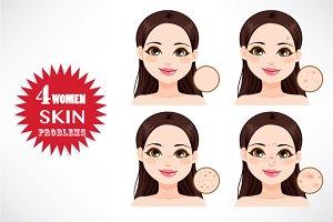 Women Skin Problems