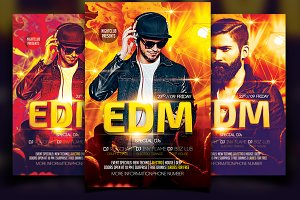 EDM Flyer Template