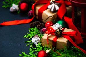 Christmas gift concept