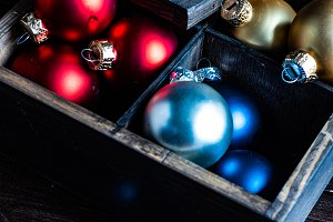 Christmas decoration concept