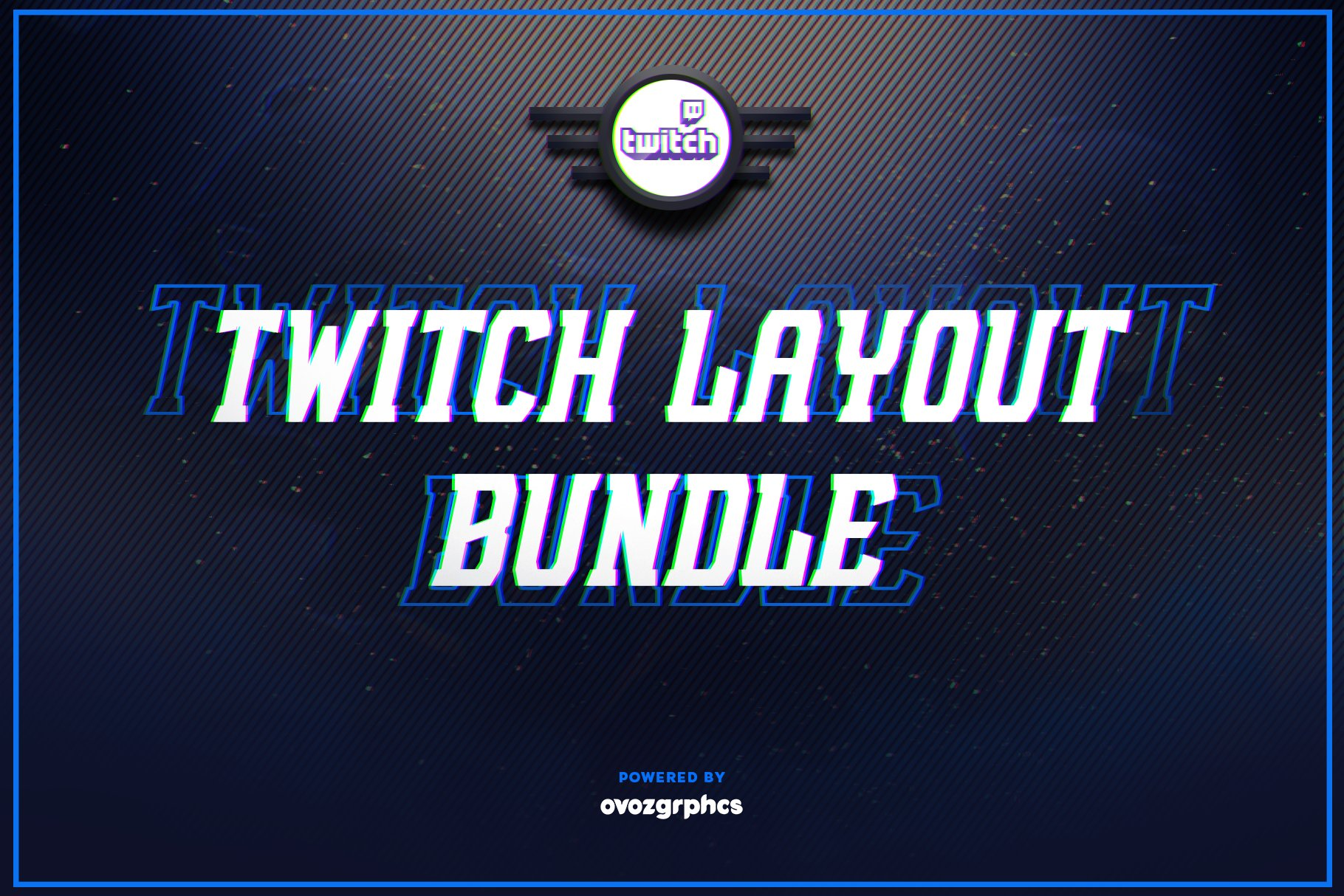 Twitch Layout Bundle 50 Off Social Media Templates Creative