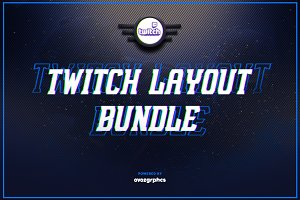 Twitch Layout Bundle ( 50% OFF )