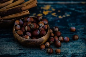 Cinnamon and nuts