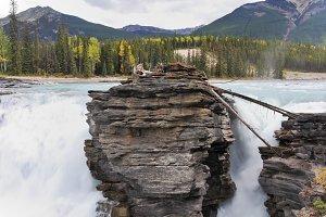 Howling Athabasca Falls