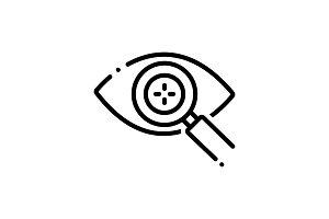 Eye detect icon