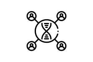 Dna matching icon