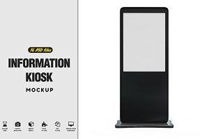 Information Kiosk Mockup