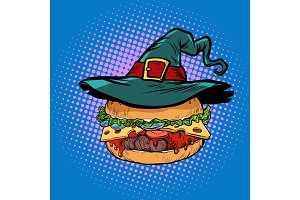 Halloween Burger, fast food holiday