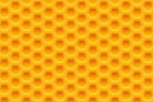 Yellow honeycomb seamless