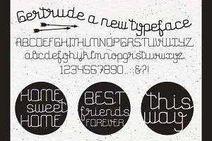 Gertrude typeface