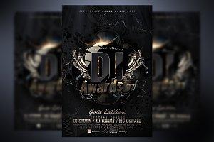 DJ Awards Flyer