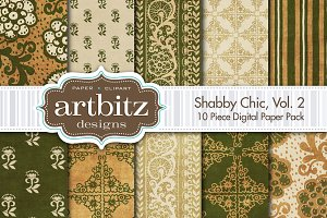 Shabby Chic V2 Digital Paper
