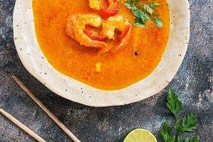 Traditional thai cuisine, Tom yum