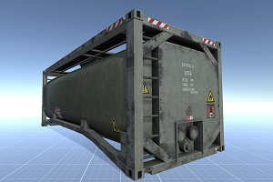 Fuel Storage Tank Container