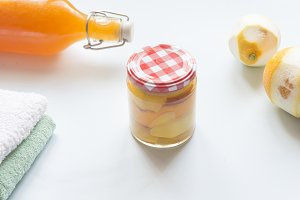 citrus vinegar for cleaning without