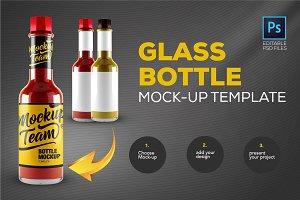Glass Bottle Mock-up