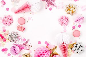 Pastel Pink decorations